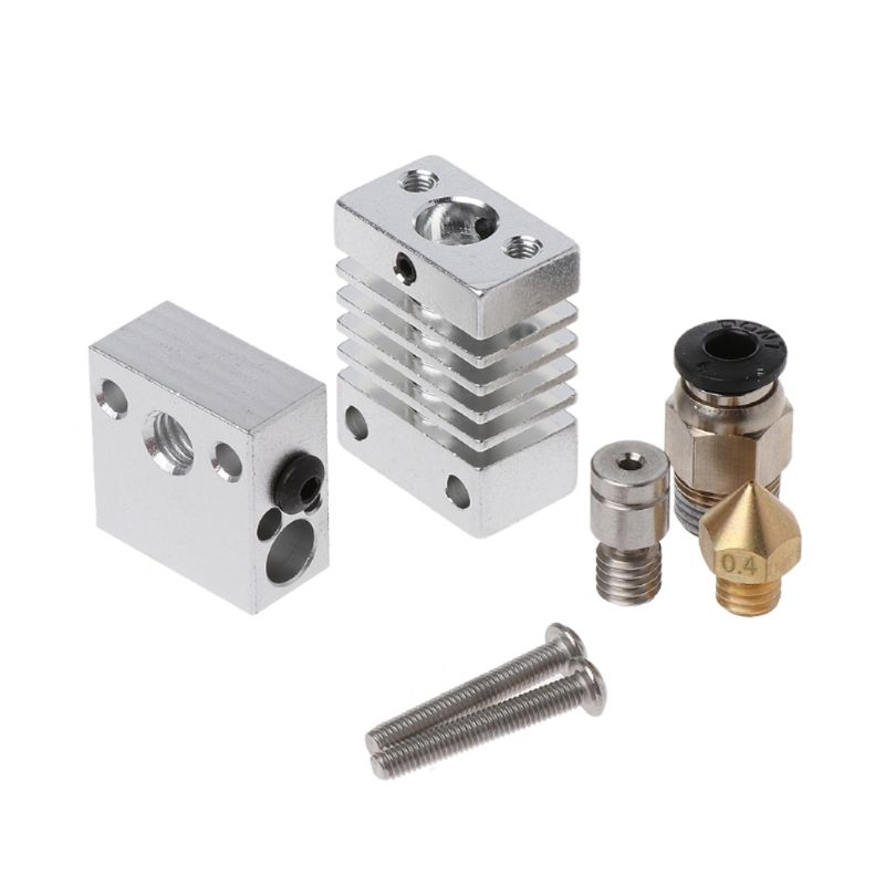 3D Metal J-head Hotend Extruder Kit 1.75 0.4mm Nozzle CR8 CR10 3D Printer Part