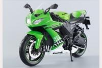 1pcs Motorbike Kawasaki ZX 10R Ninja Road Racing ZXR Ninja 250 Motorcycle Toys Classical 1 12