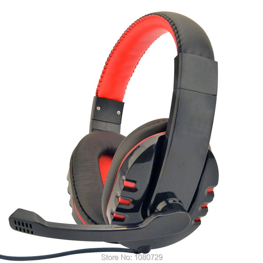Brand Deep Bass Game Headphone Stereo 3.5mm Over-Ear Gaming Headset Headband Earphone with Microphone for Computer PC Gamer led bass hd gaming headset mic stereo computer gamer over ear headband headphone noise cancelling with microphone for pc game