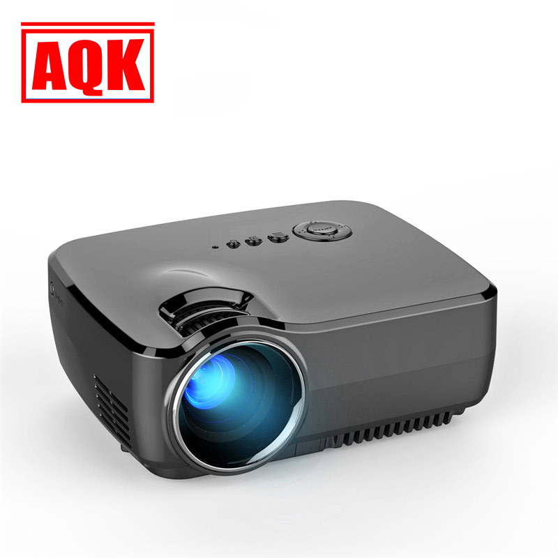 GP70 2016 New HD LED HDMI USB Video Digital Home Theater Portable HDMI USB LCD DLP Movie Pico LED Mini Projector