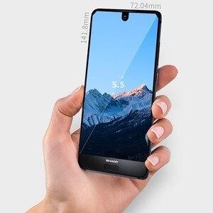 Image 3 - هاتف ذكي شارب أكوس S2 C10 يعمل بنظام الأندرويد 8.0 يدعم 4G بشاشة 5.5 بوصة FHD + سنابدراجون 630 ثماني النواة هاتف محمول 4 جيجابايت + 64 جيجابايت NFC