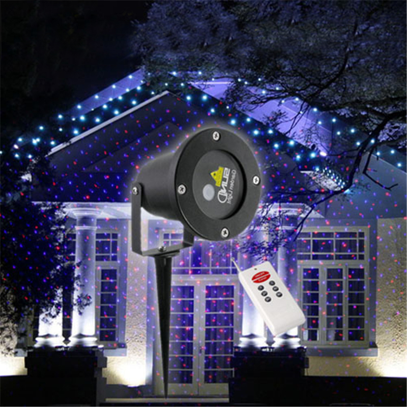 Top IP68 Waterproof Elf Christmas Lights Red Blue Moving