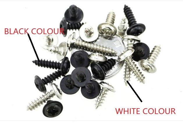 Qty 10 Phillips Pan Head Machine Screws DIN 7985 A Black Ox M3.5-0.6 x 6mm
