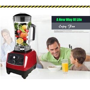 Image 4 - BPA Free Commercial Grade Timer mieszalnik Heavy Duty automatyczny sokowirówka robot kuchenny kruszarka do lodu koktajle 2200W