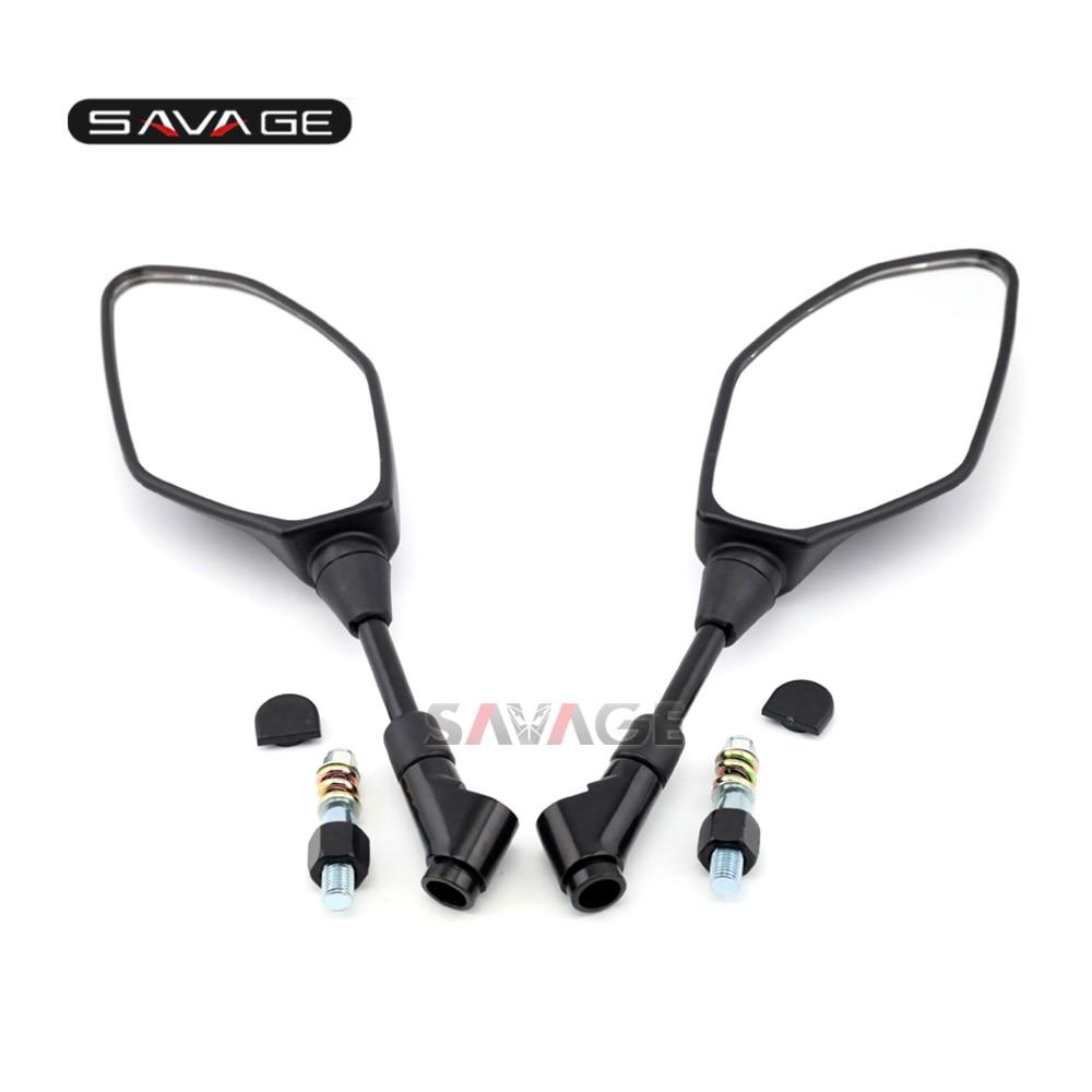 E9 Certificazione Per YAMAHA XJR1300 XJR1200 XJ6 FZ-1N FZ6 FZ8 FZ-07 FZ-09 FZ-10 Accessori Moto Laterale Specchi Retrovisori