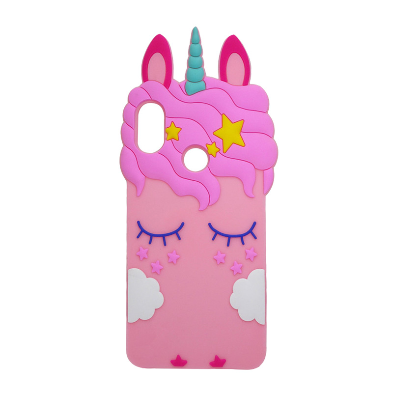 note 5 phone cases Redmi Note 5 Pro Cases Unicorn Pink