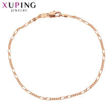 11.11 Deals Xuping Fashion Exquisite Bracelet Jewelry With Environmental  Copper for Women Thanksgiving Gift S80,