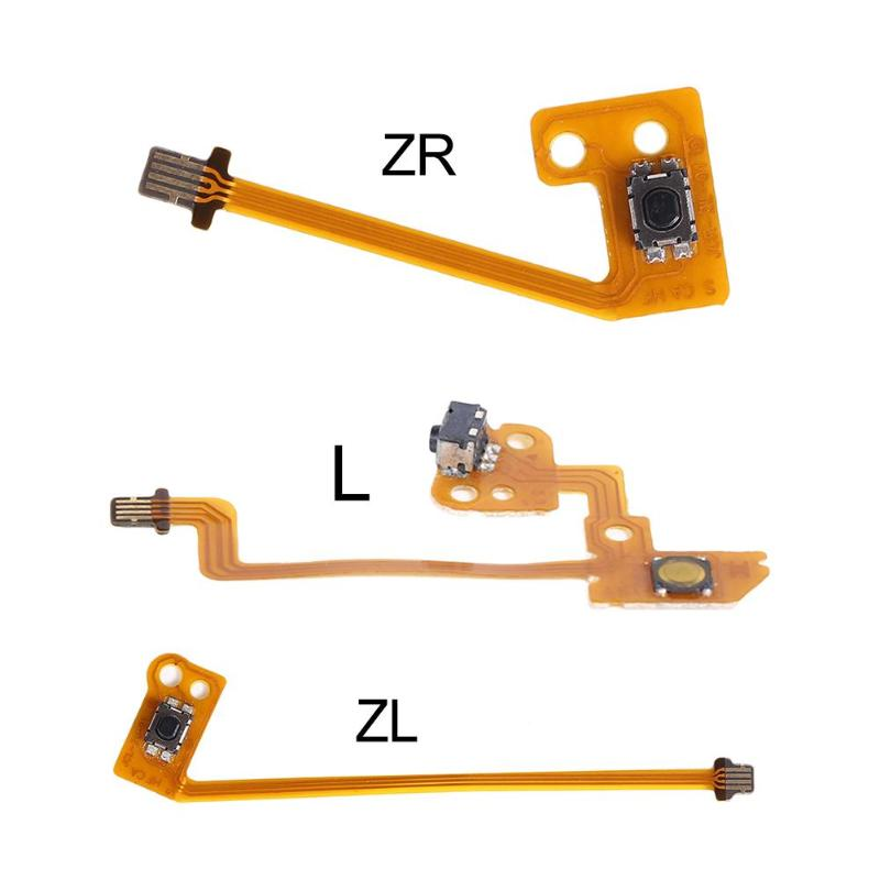 Replacement Of ZL ZR L ZL+ZR+L Button Key Flexible Strip Cable For Nintend NS Switch Joy-Con Controller Trigger Button Cable