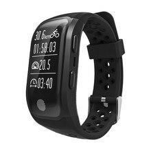 S908 GPS Smart Band Bluetooth 4.2 сна монитор сердечного ритма шагомер умный Браслет IP67 Водонепроницаемый для iOS и Android