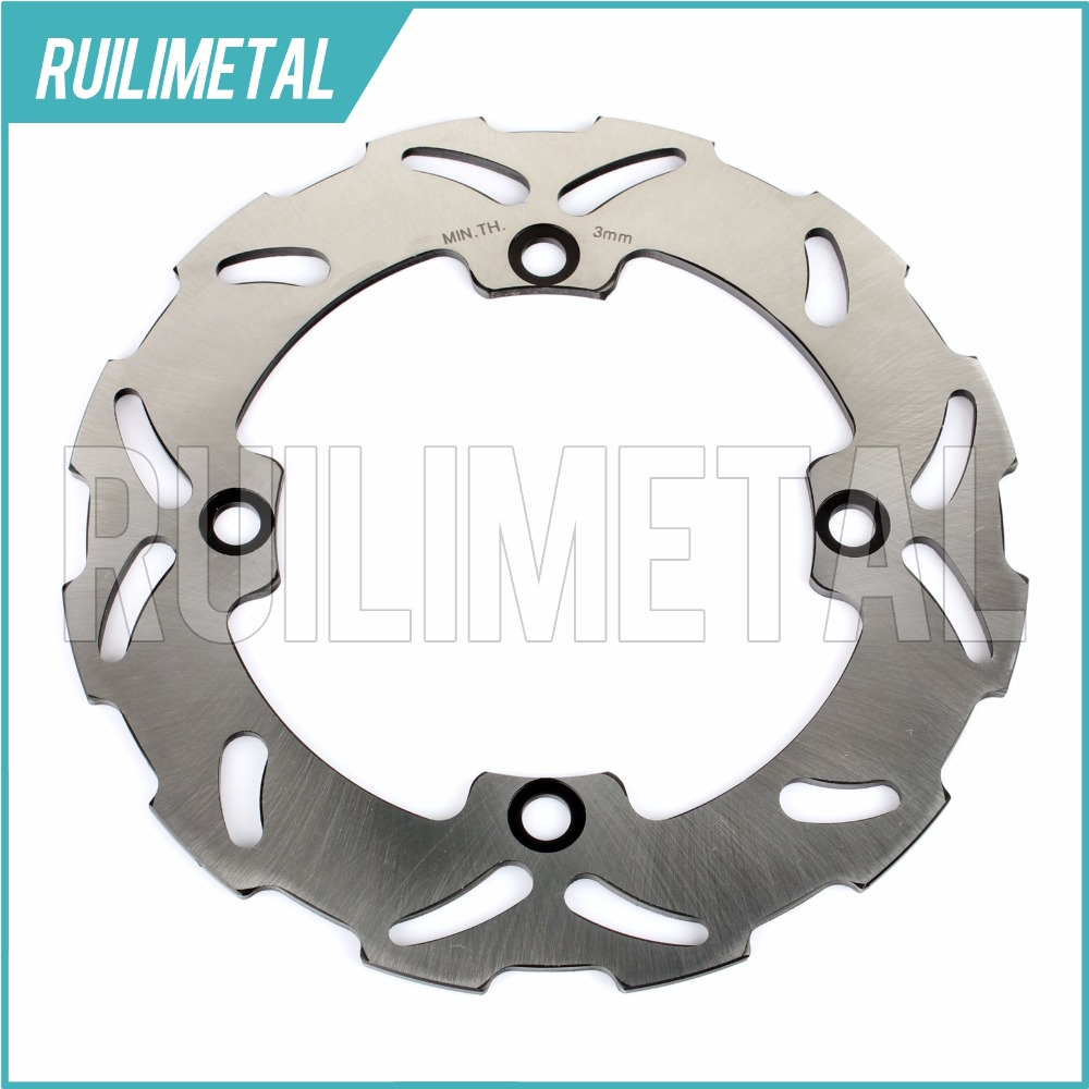 Rear Brake Disc Rotor for HONDA CR 125 250 500 R E AX-1 CR125R CR250R CR500R CR125E CR250E CR500E 95 96 97 98 99 00 01 motorcycle front and rear brake pads for honda cr125r cr250r cr500r cr 125 250 500 r 1987 2001