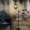 Klassische vereinfacht und retro nostalgischen kerosin stehlampen stehen staande lampe nordic führte stehlampen für wohnzimmer Vloer-in Stehleuchten aus Licht & Beleuchtung bei