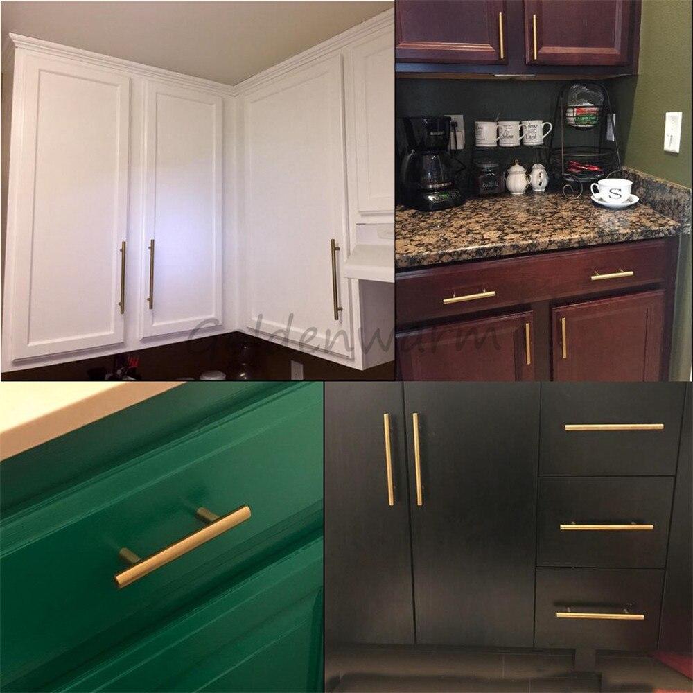 Kitchen Cabinet Knob Location: Gold Kitchen Cupboard Handles