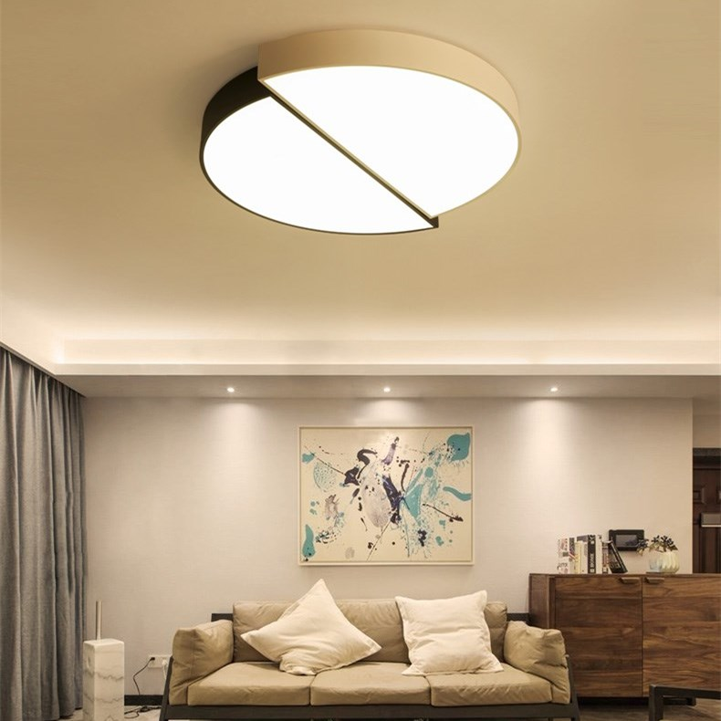 Morden Minimalist Ceiling Lamp Led Bedroom Iron Lights