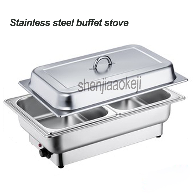 600w Electric heating Buffy furnace Stainless steel buffet oven Food stove for restaurant / buffet / Hotel high-end venues 220v