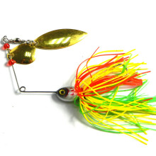 KKWEZVA Metal 1pc Fishing Lure Spinnerbait 20.5g wobbler Fresh Water Shaltwater Bass Walleye Crappie Minnow Soft bait