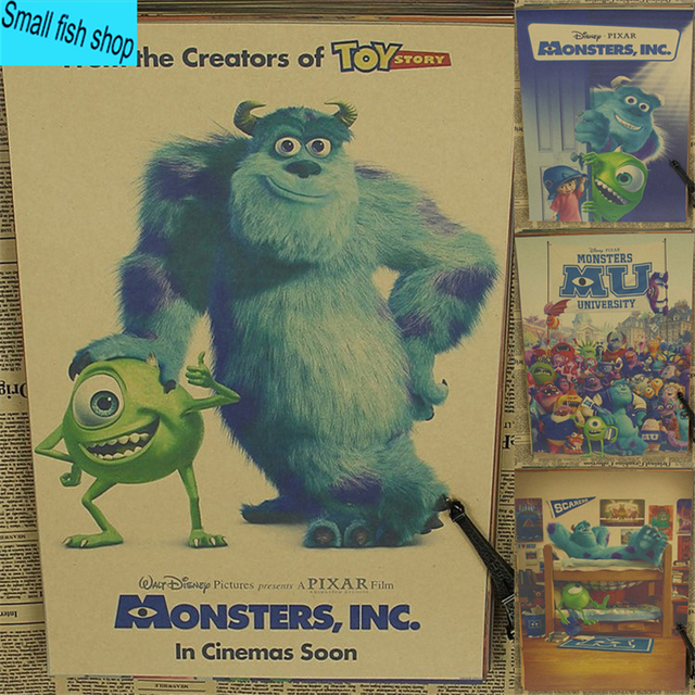 Monsters University Monsters Inc Animated Film Home Furnishing