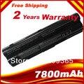 9 Cells 7800mAh  Battery for DELL XPS 14 XPS 15 L401x L501x L502x L521x 17 L701x laptop free shipping