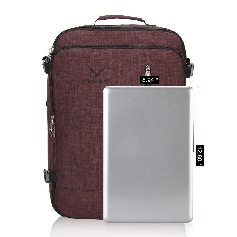 M272 Vintage Canvas Lederen Rugzakken voor Mannen Laptop Daypacks Waterdichte Canvas Rugzakken Grote Waxed Bergbeklimmen Travel Pack - 5