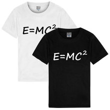 ZOGAA Male female life explosion Albert Einstein evolution theory formula E = MC2 engineering male short sleeve Couple T-shirt