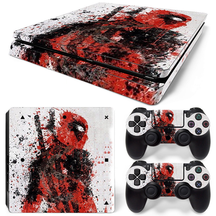 Best price Sticker Decal Skin For Playstation 4 PS4 Slim Console Controllers #TN-P4S Slim-0020