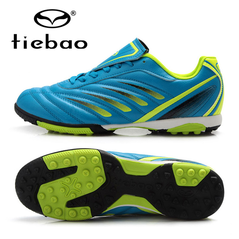 TIEBAO Professionell Utomhus Vuxenfotbollskor Män Kvinnor TF Turf Gummibolar Fotbollsstövlar Athletic Training Sneakers EU 36-43