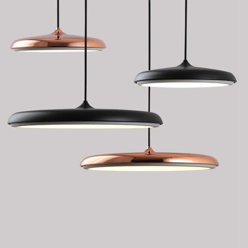 Scandinavian LED Pendant Light Modern Art Restaurant Simple Design Bar Creative UFO Pendant Lamp
