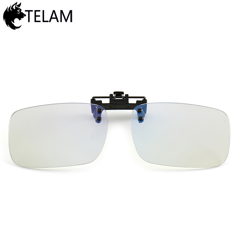 Anti Blue Ray Anti-fatigue Glasses Blue Light Blocking Clip On Glasses For Computer Protection Gaming Glasses