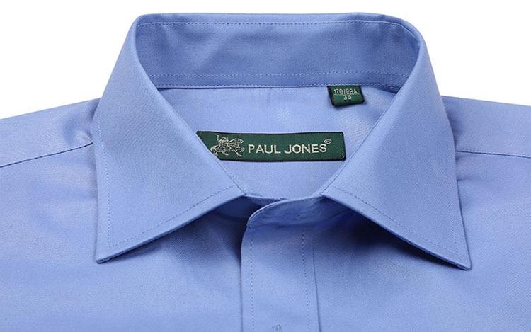 5XL Langarm Französisch Manschette Männer Business Hemd Regular Fit - Herrenbekleidung - Foto 2
