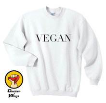 Vegan Sweatshirt Top kale plants are friends edgy veggie vegetarian vogue hipster Crewneck Unisex More Colors -B069