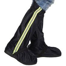 цена на new Waterproof Motorcycle Bike Shoe Covers Reusable Cycling Shoe Protective Gear Snow Rain Boot Shoe Cover  FK88