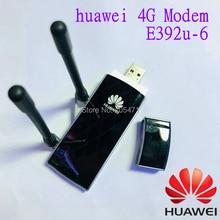 HUAWEI E392u-6  4G usb dongle 100M  data card  FDD850/2100MHZ  Unlocked 4G  MODEM with antenna  Free Shipping цена и фото
