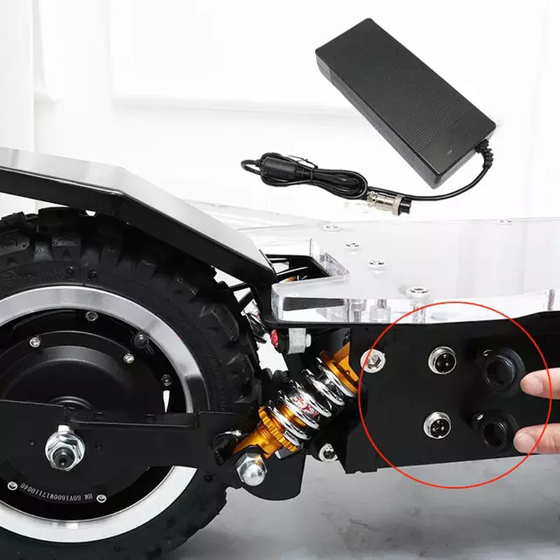 JS 3200W 67.2V 2A <font><b>Electric</b></font> <font><b>Scooter</b></font> Charger Adapter for <font><b>60v</b></font> 3200w escooter <font><b>60v</b></font> <font><b>electric</b></font> power <font><b>scooter</b></font> Adapter Charger image