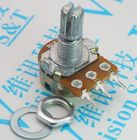 5pcs WH148 Linear Potentiometer 15mm Shaft With Nuts And Washers 3pin WH148 B1K B2K B5K B10K B20K B50K B100K B500K B1M