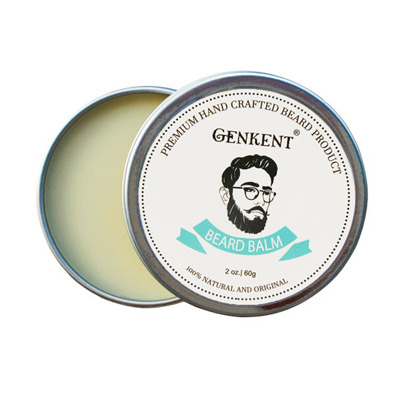 60g 100% Natural <font><b>Beard</b></font> <font><b>Balm</b></font> Moustache Moisturizing Cream for <font><b>Beard</b></font> Growth Well and Healthy <font><b>Organic</b></font> Natural Moustache Wax