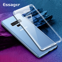 Essager Transparent Case For Samsung Galaxy Note 9 S9 S8 Plus Coque Silicone Grand Prime TPU Cover For Samsung Note9 Phone Case