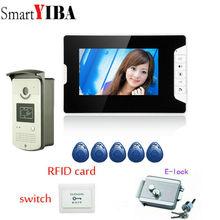 SmartYIBA HD 7″ TFT color Video Door Phone Intercom Doorbell Home Security Camera Monitor Night Vision system