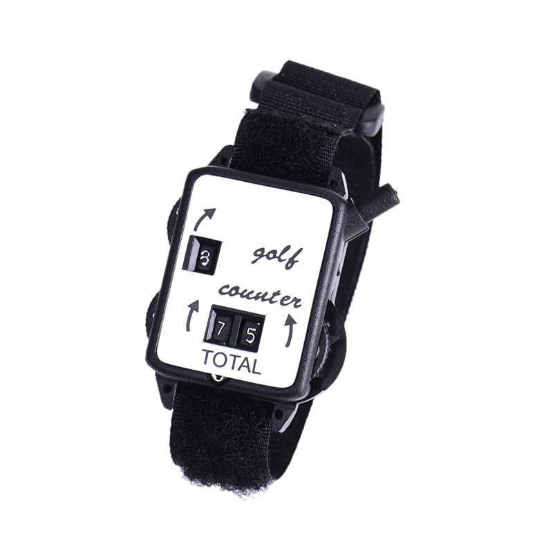 Golf Wristwatch Type Scoring Device Wristband Golf Club Stroke Score Keeper Count Watch Putt Shot Counter