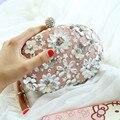 Bolsas de senhora 2017 Serpentina Crânio Embreagem Formal Evening Partido Bag Cross-Corpo Pequeno Ocasional Bolsas De Luxo Mulheres Sacos De Designer