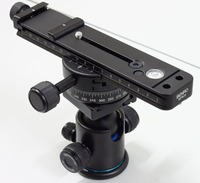 Benro MPB20 Multi Purpose Rail QR Plate with PC 0 Panorama Head and Ball head