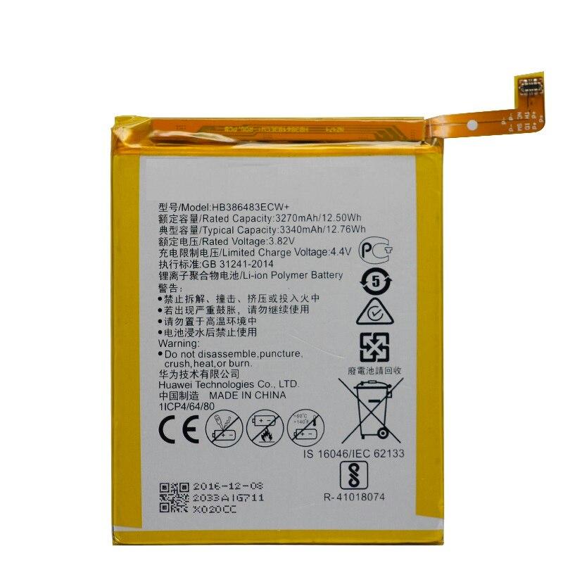 Bateria Do Telefone de substituição HB386483ECW Para Huawei honor 6X G9 plus Maimang 5 MLA-AL00 MLA-AL10 G9Plus 3340 mah