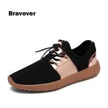 Zapatos para hombre de Malla de Moda Casual Brillante Oro Mens Entrenadores Casual Zapatos con cordones Respirable Ultraligero Hombre Krasovki