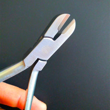 Стоматологические Ортодонтические инструменты 1 шт., щипцы для накаливания, щипцы для резки жесткой проволоки с TC, нержавеющая сталь, стоматологический инструмент, плоскогубцы для стоматологии