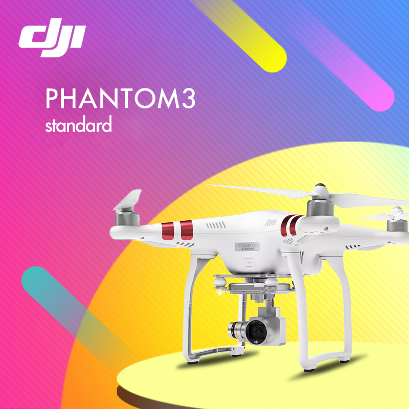 In stock! DJI PHANTOM 3 Standard RC Helicopter Drone RTF Quadcopter with 2.7K Camera PK DJI phantom 3 advanced