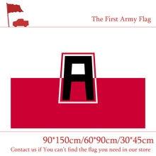 90*150cm primeira segunda quarta bandeira do exército do americano 30*45cm carro bandeira 60*90cm 3x5ft bandeira de bronze metal grommets