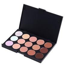 New 2017 Professional Concealer Neutral Palette 15 colors makeup tools facial care eye scar cream concealer
