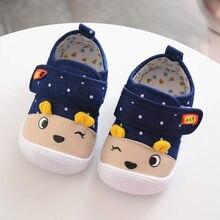 7759218ee 2019 verano nuevo bebé niños bebé niñas de dibujos animados Anti-slip Zapatos  de suela suave de juguete zapatillas de deporte ba.