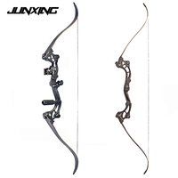 64 inches Black Recurve bow of 30 55 lbs IBO Speed 175 fps for Archery and Hunting with Arrow Rest Free Shipping