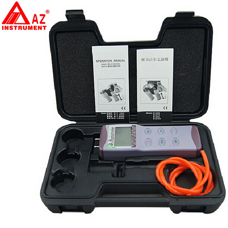 AZ8230 digital pressure meter  differential pressure manometer pressure manometer digital meter measuring pressure 0~+/ 30PSI|digital pressure meter|digital pressure|differential pressure - title=