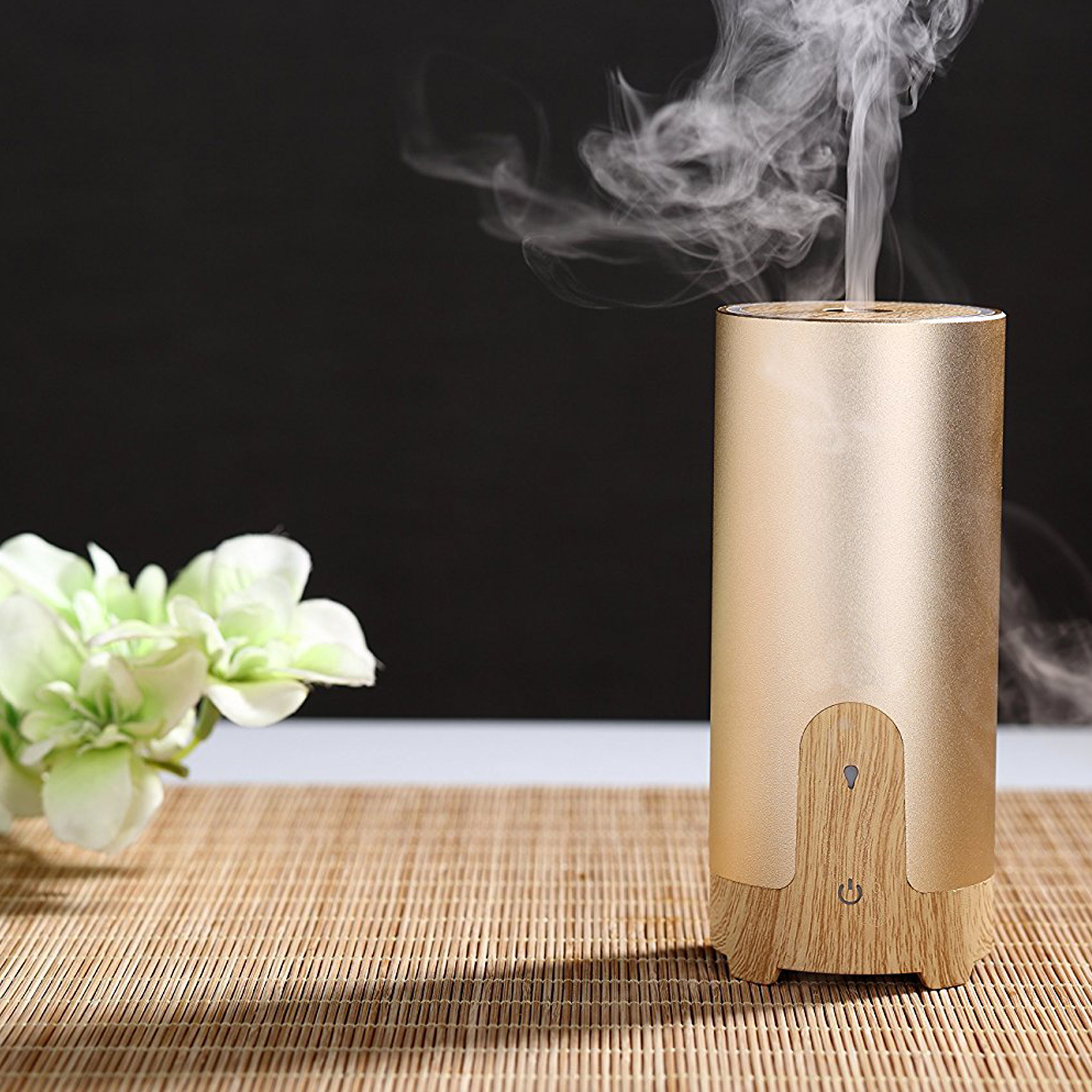 USB Car Essential Oil Fragrance Air Freshener Ultrasonic Aroma Diffuser Car Cup Design Portable Humidifier flying saucer style car vehicle aromatic fragrance air freshener ocean flavor