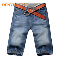 Polo Shorts Men Fashion Casual Mens Jean Shorts Cotton Straight Ripped Designer Shorts Bermuda Homme Mens